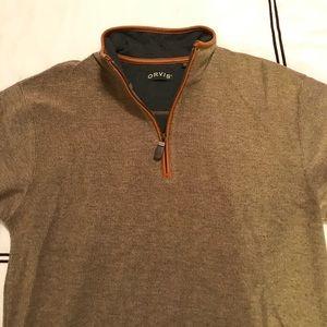 Men's Orvis 1/4 zip jacket